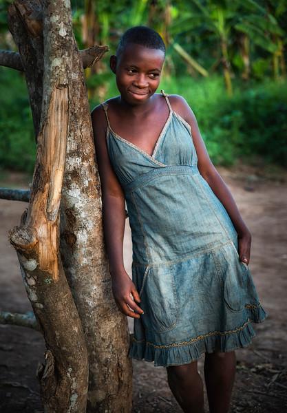 Ugandan young woman.