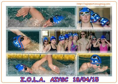 ZOLA  AIYSC  @ Antwerpen 18/04/15