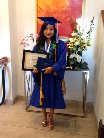 Marissa Pho's graduation
