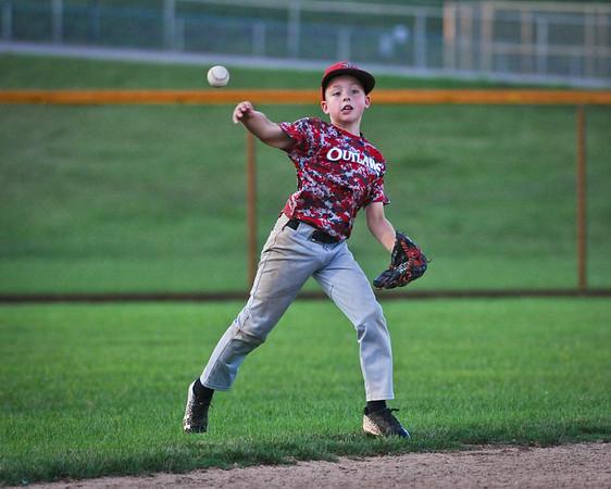Ty Rauls Outlaws Baseball 6/27/18