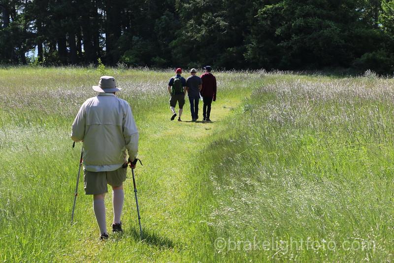 Hiking in East Sooke Pard