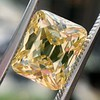 5.35ct Fancy Brownish Yellow Emerald Cut Diamond, GIA SI2 1