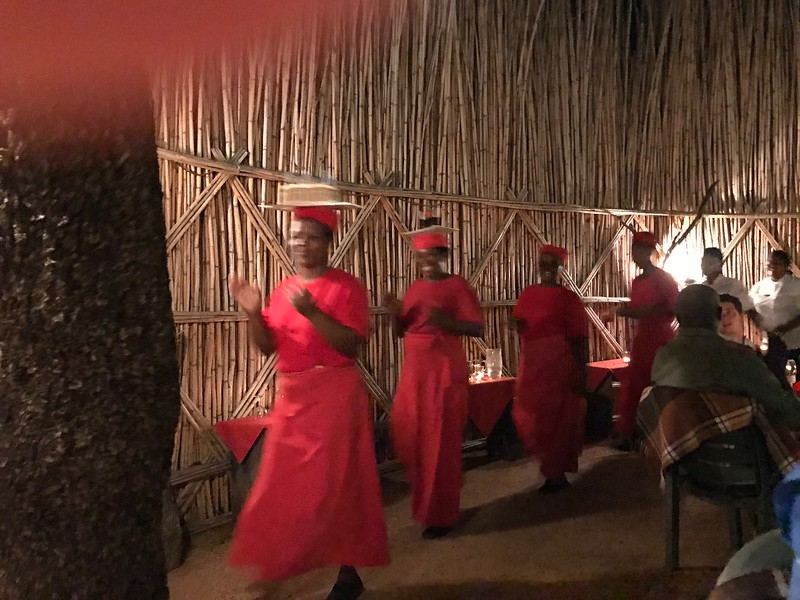 Singing Birthdays in the Boma-Swenson