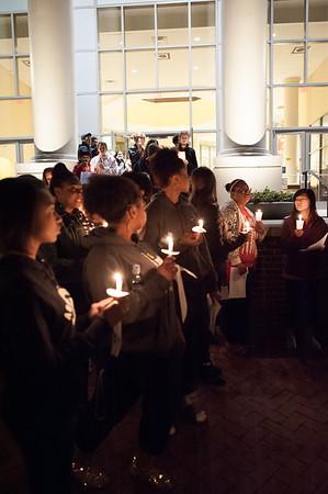 MLK Candle Light Vigil