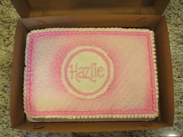Hazlie's Blessing