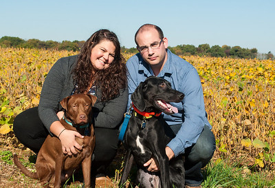 Chris & Christina with Wesley & Charlie