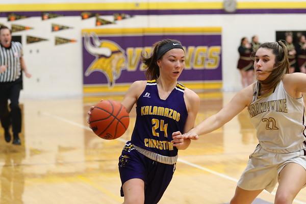 Basketball Girls Varsity Regionals vs Brandywine - KCHS 2/11/19