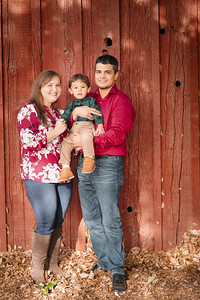 Xavier, Melinda, & Diego Fall 2020 Family Photos