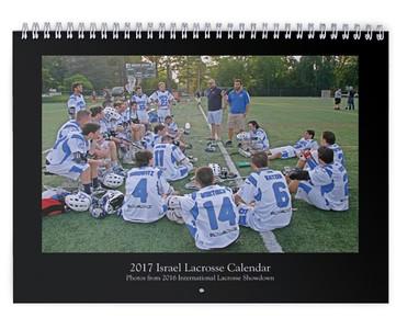 2017 Israel Lacrosse Calendar (International Lacrosse Showdown)