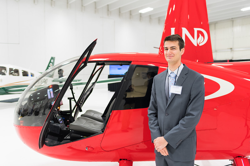 Andrew Rossi, Helicopter Student and SAMA Member