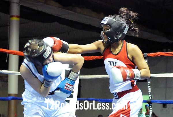 Bout 6 Female-Mikayla Nebel, Columbus, OH -vs- Gia Brown, Cleveland, OH 122 lbs