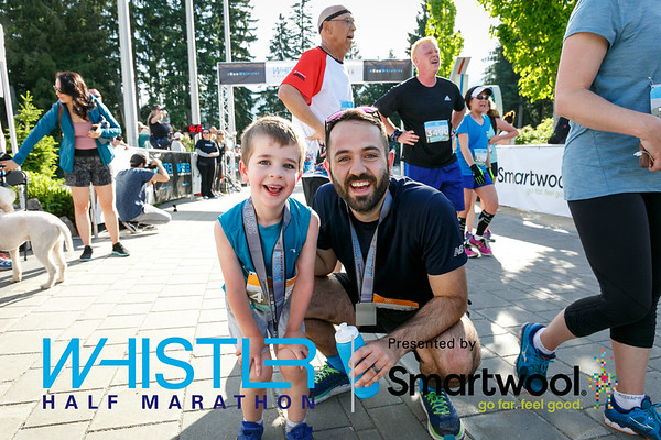 2019 Whistler Half Marathon Finish Line Photos