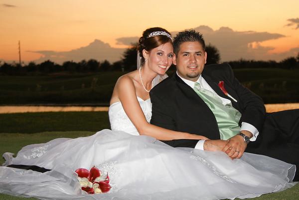 John and Miranda's Wedding Day Oct 31, 2009