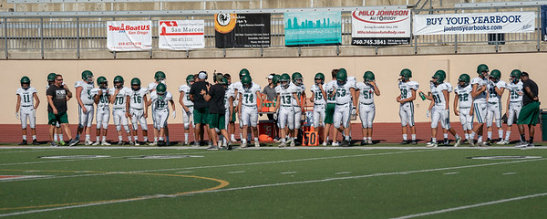 2019-09-13 Poway Titans Vs Escondido Cougars JV Football