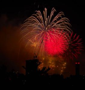 Boston fireworks July 4, 2017