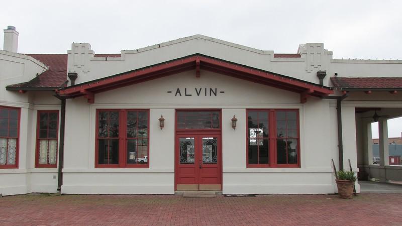 Alvin Train Depot