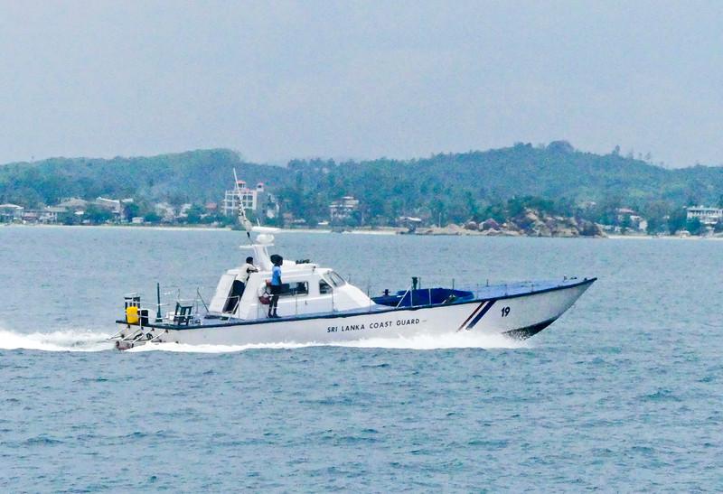 Guard Coast vessel