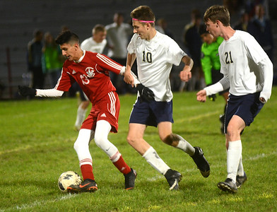 Conneaut at Edgewood sectional soccer October 16, 2018