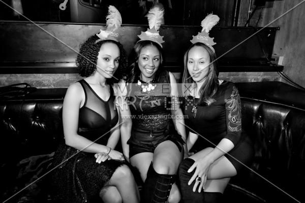 NBA Black & White New Year's Eve Ball 12.31.10