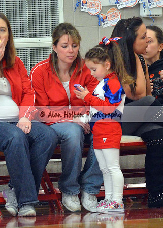 Cheer at Mason Feb 4 - Dewitt varsity - Round 2