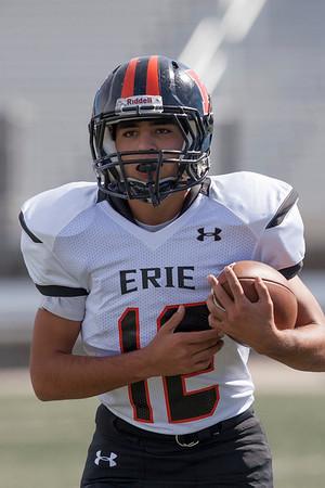 091314 Erie Var v D'Evelyn Football