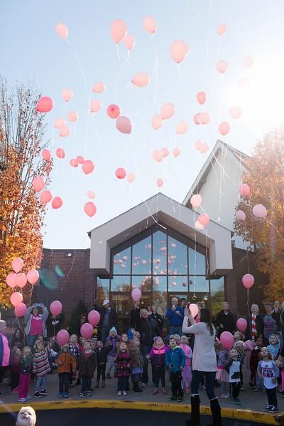 Laura Stagg Birthday Balloon Release - CUMC