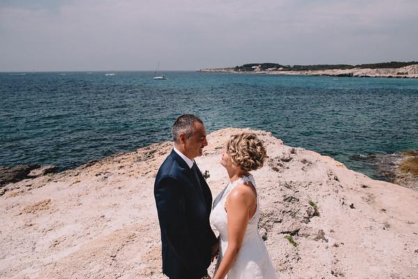 Caroline&David Mariage Le Rove