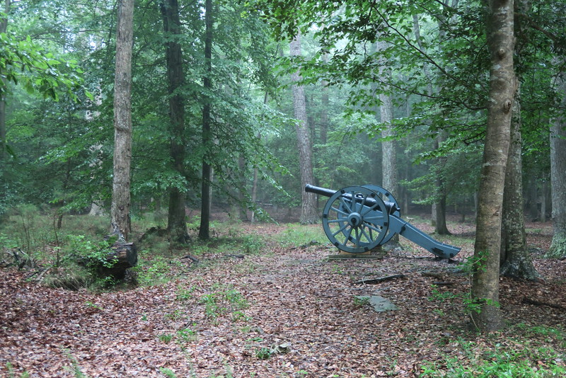 French Artillery Park -- Late September-Early October, 1781