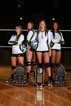 CSU Volleyball 2012 Team photos