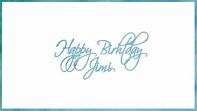 12.06 Jimi's Birthday