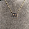 'For You I Live' 18kt Rose Gold Cast Rebus Pendant, by Seal & Scribe 13