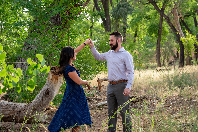 Summer Bosque Engagement Session Corrales New Mexico AJ & Gloria-7677.jpg