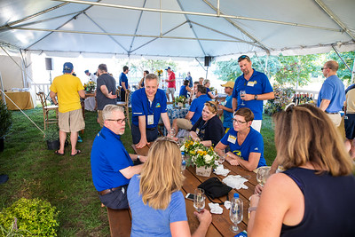 Faculty-Staff Tailgate on 8-30-18