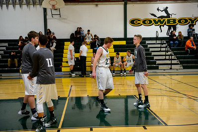161213 LHS Men's Varsity Basketball Vs American High School
