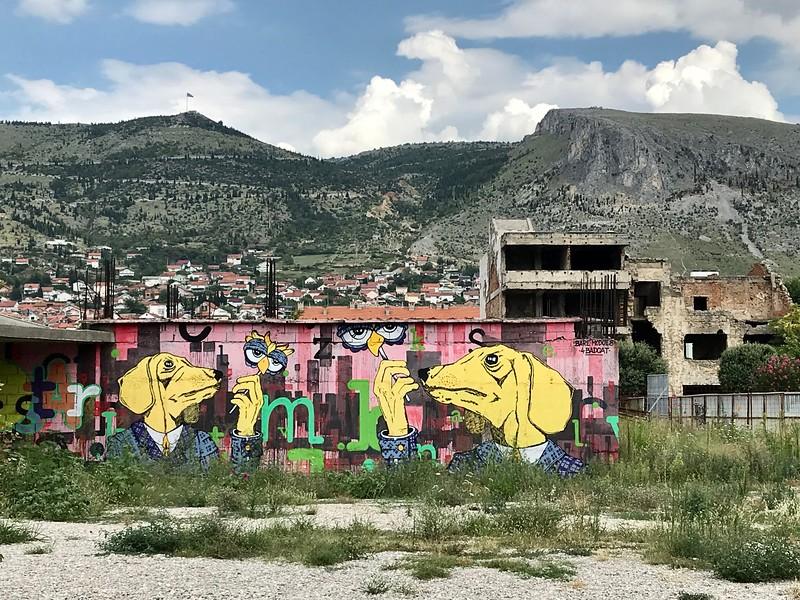 in Mostar, Bosnia and Hercegovina