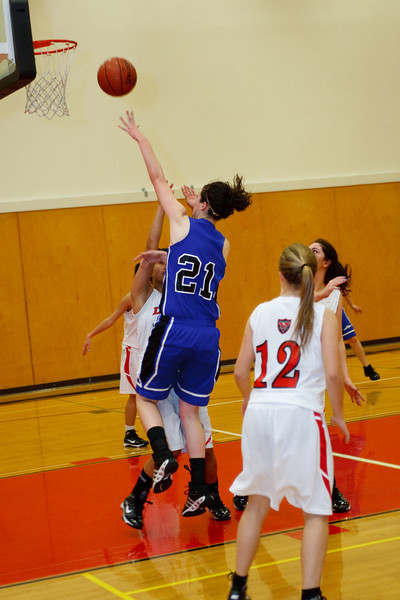 RCS Girls' Varsity Basketball vs VC - Jan 2010