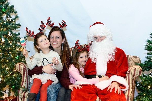 Photos with Santa 12-9-2017