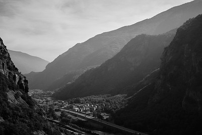 aosta: in the footsteps of glaciers