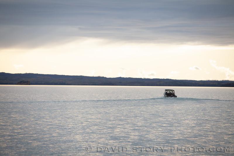 2019 09 21: Setting out towards Caribou Island, Skilak Lake, AK.