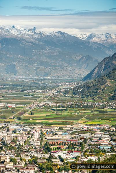 Martigny Valley