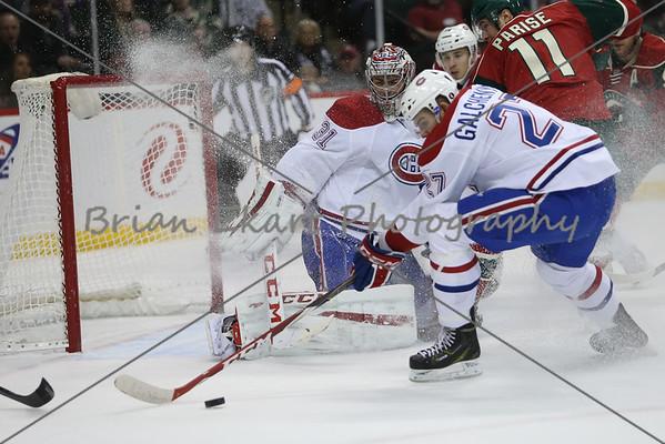 Mn Wild vs Montreal Canadiens - 12.3.14