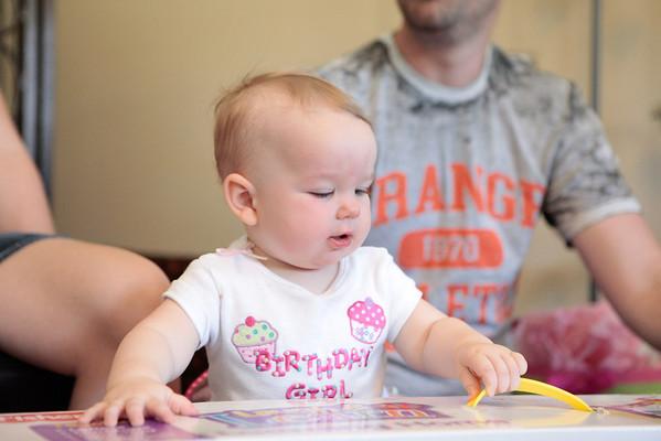 Ellani's FIRST Birthday