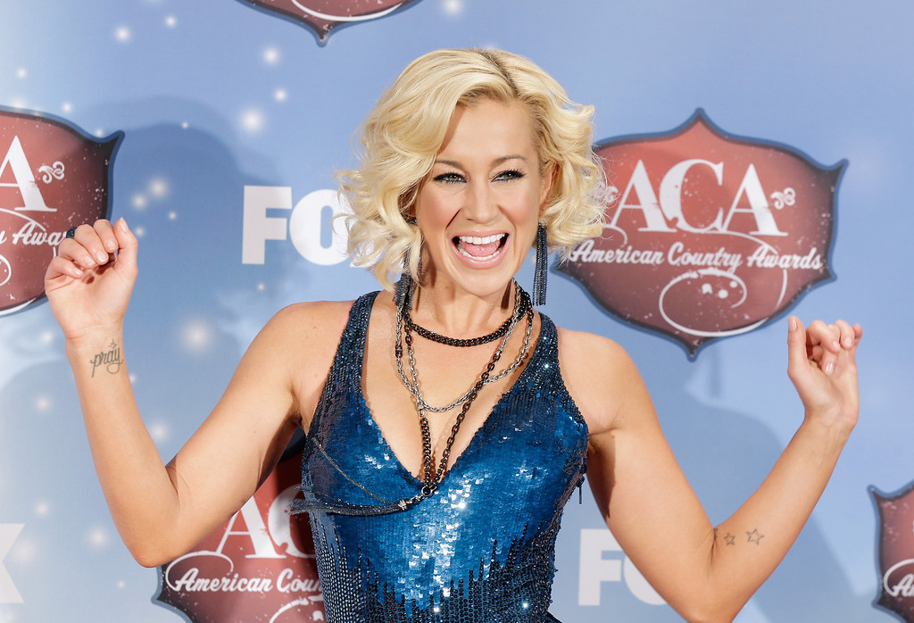 . Recording artist Kellie Pickler poses in the press room during the 2013 American Country Awards at the Mandalay Bay Events Center on December 10, 2013 in Las Vegas, Nevada.  (Photo by Isaac Brekken/Getty Images)