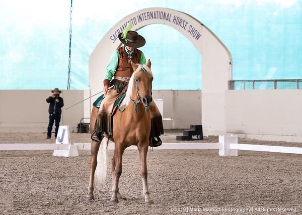 Jenni Grimmett & CFR El Vaquero Dorado