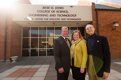 Jesse D. Jones College of Science, Engineering & Technology Dedication