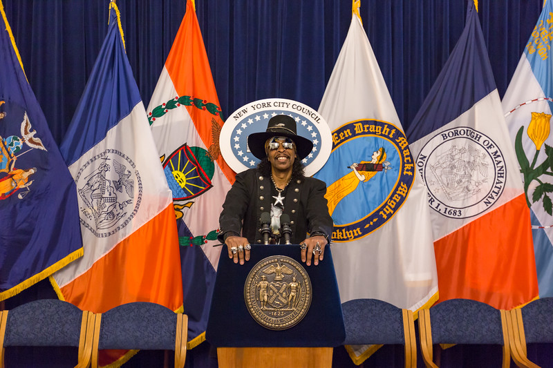 2017_09_15, Bootsy Collins, City Hall, New York, NY