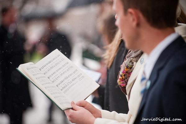 April 09 - LDS Conference - crowd photos