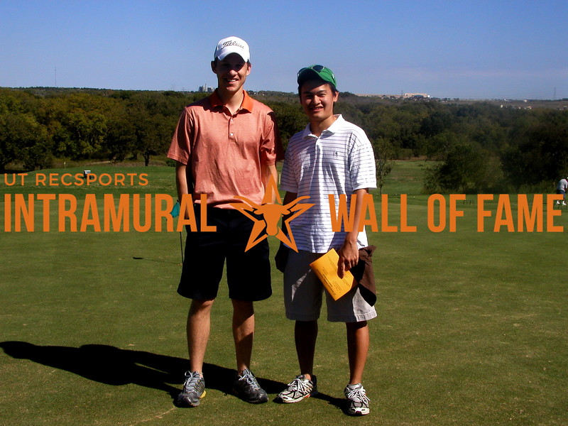 FALL GOLF DOUBLES Champions  Eric Hassfurther, Christopher Pan
