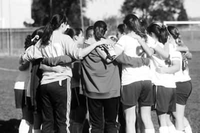 RCS Girls' Varsity Soccer vs Mt. Diablo - Jan 2013