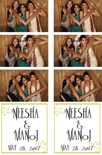 Neesha & Manoj Reception - 5.28.17 - Photo Strips GB